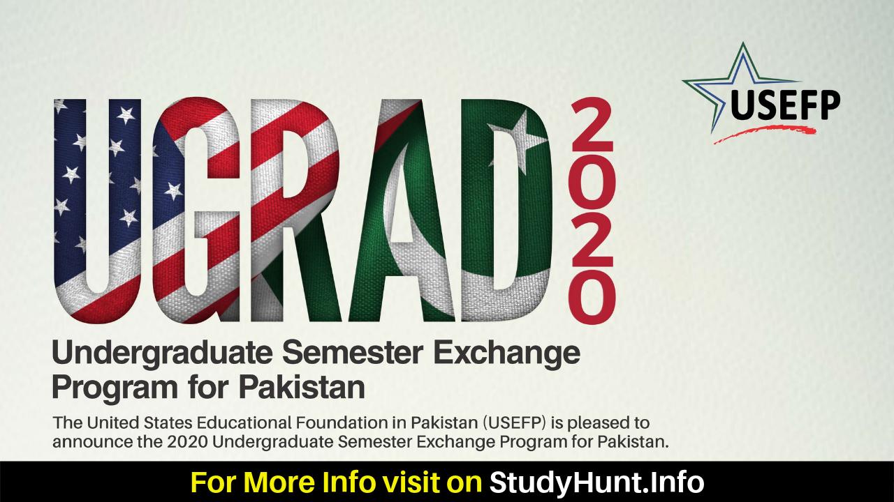 Global UGRAD Undergraduate Semester Exchange Program 2020 (Fully Funded) in USA