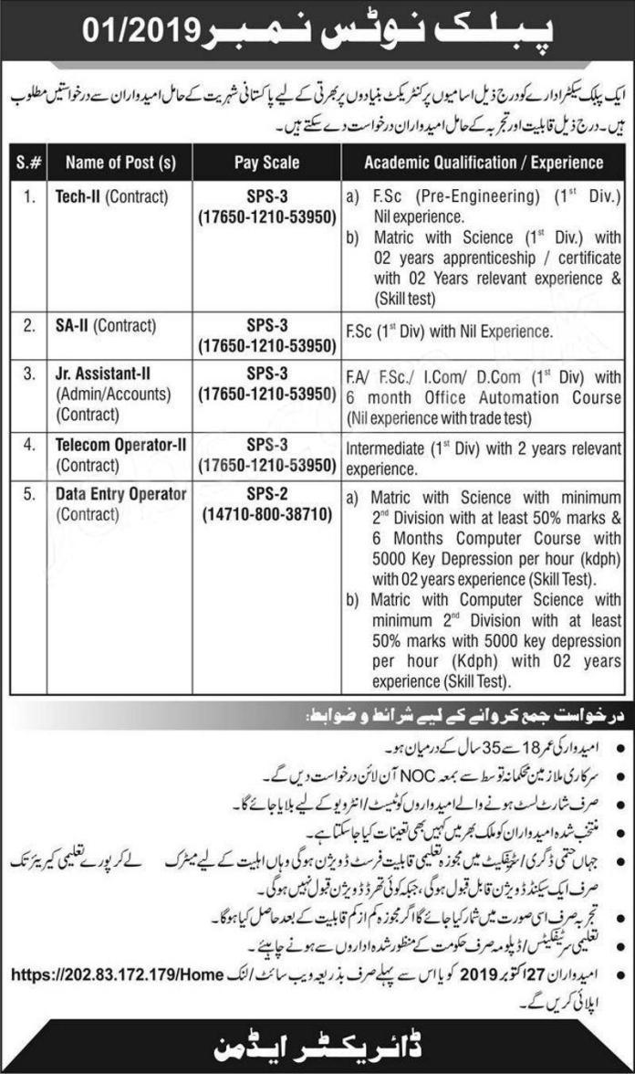 Jobs in Pakistan Atomic Energy Commission PAEC 2019