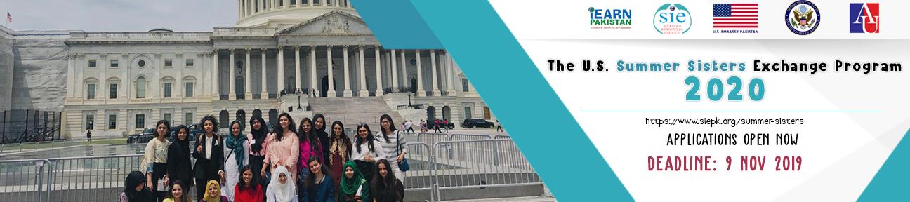 Fully Funded Summer Sisters Exchange Program in U.S 2020