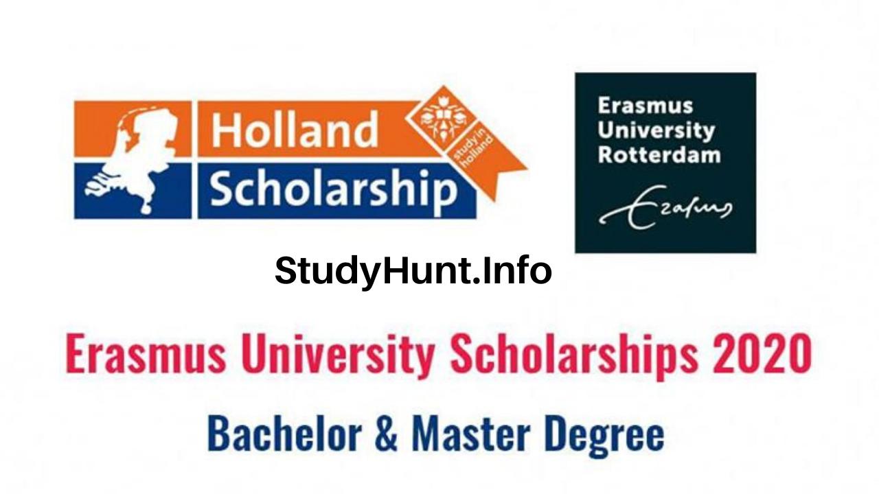 Erasmus University Scholarships for Bachelor & Master Degrees 2020