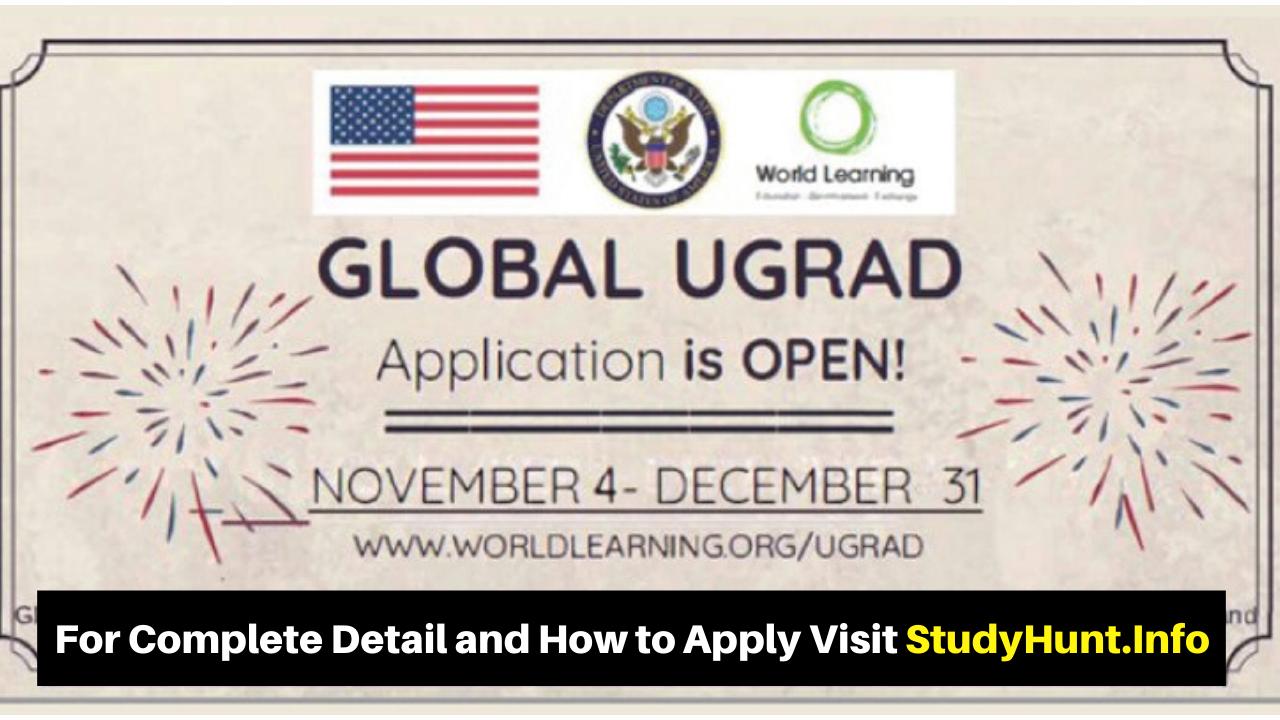 Global UGRAD Undergraduate Semester Exchange Program 2020 in USA