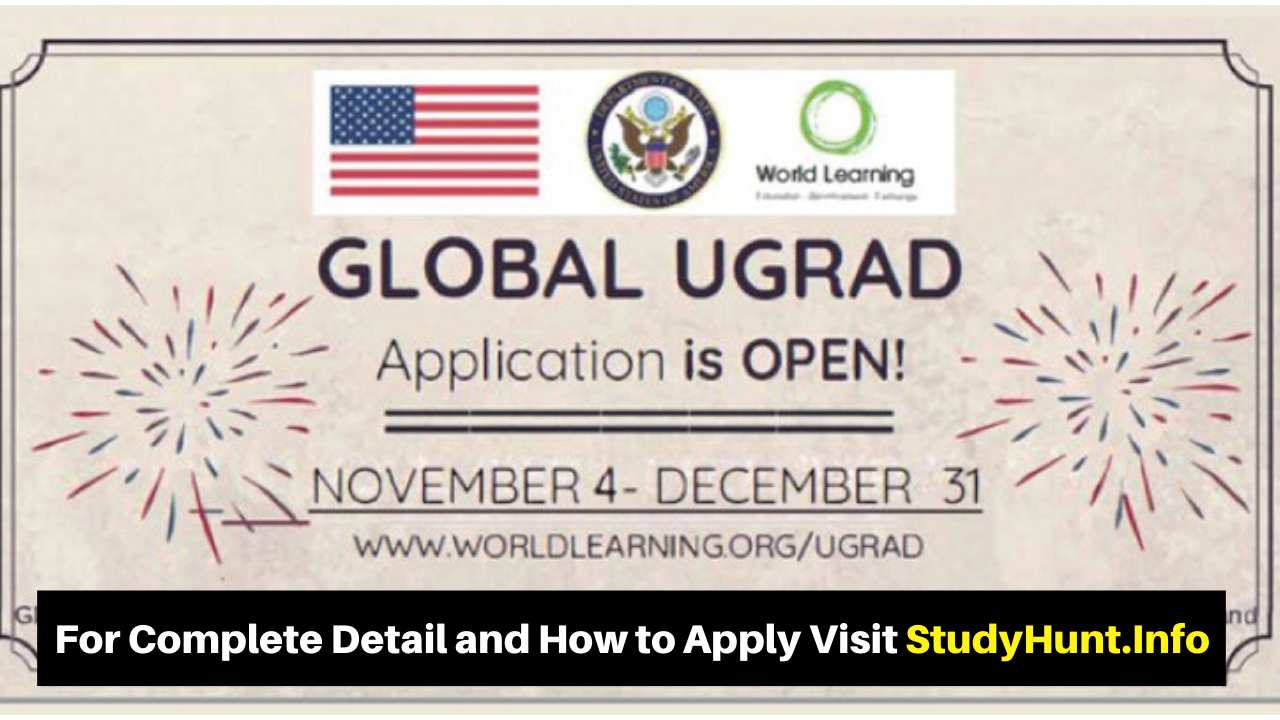 Global UGRAD Undergraduate Semester Exchange Program 2020 in USA