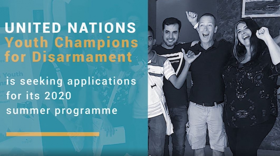United Nations Youth Champions 2020 - Fully Funded