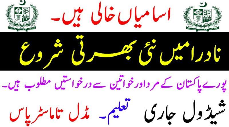 NADRA Jobs 2020 in Pakistan