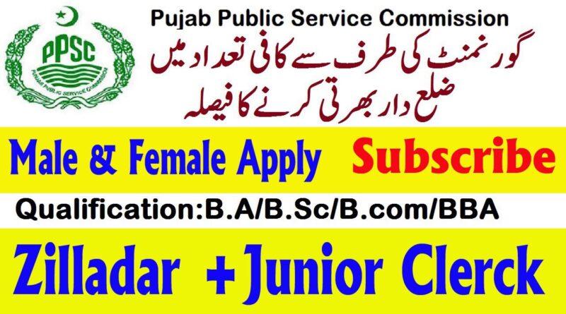 Punjab Public Service Commission PPSC Jobs 2020 - New 366+ Vacancies Apply Online