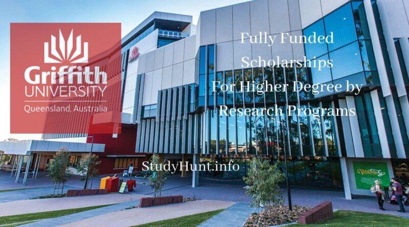 Griffith University scholarships in Australia