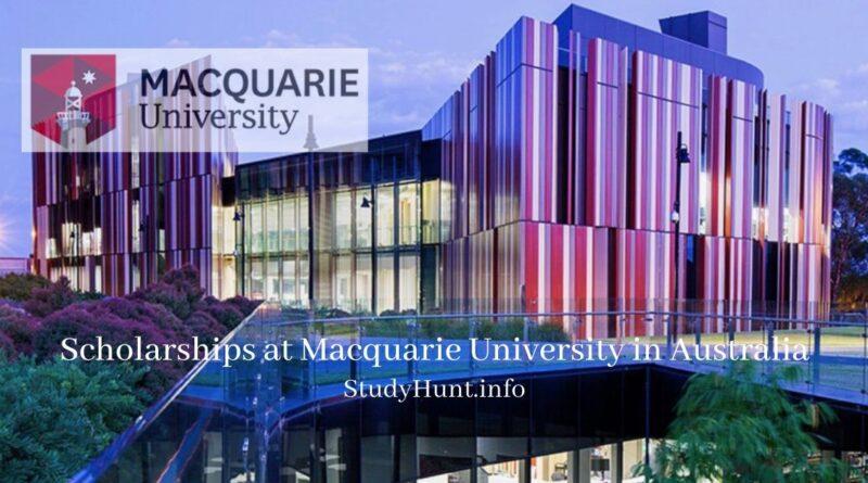 Scholarships at Macquarie University in Australia