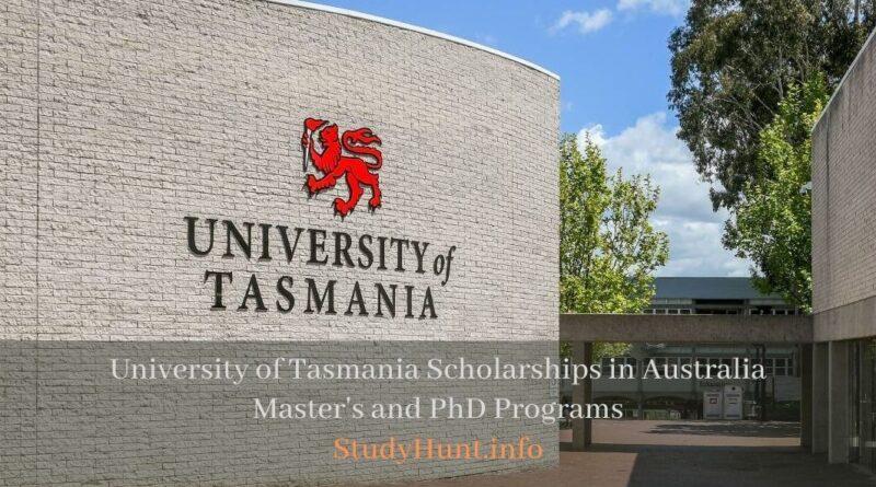 University of Tasmania Scholarships in Australia