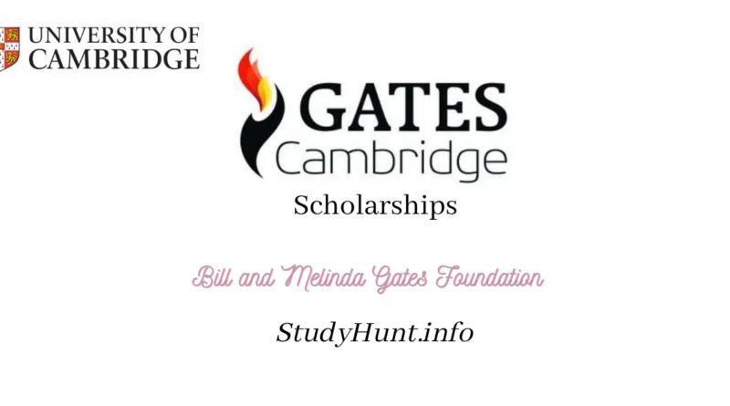 Gates Foundation scholarship