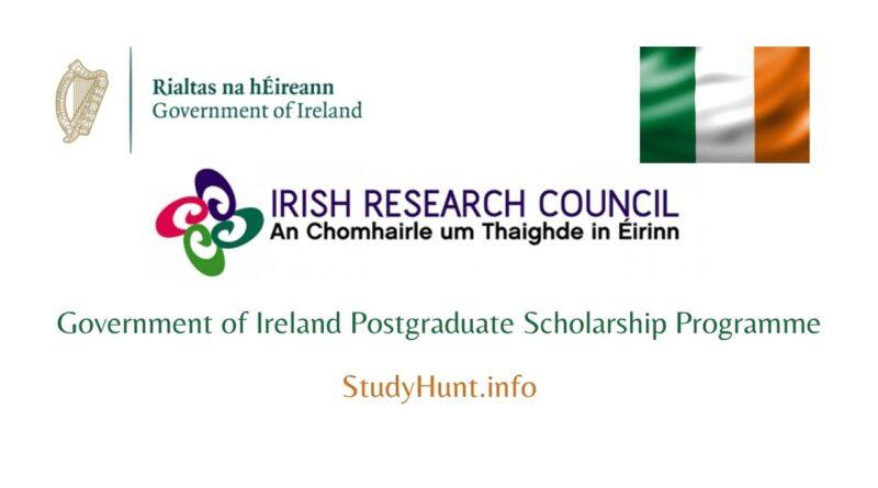 irish research council scholarship