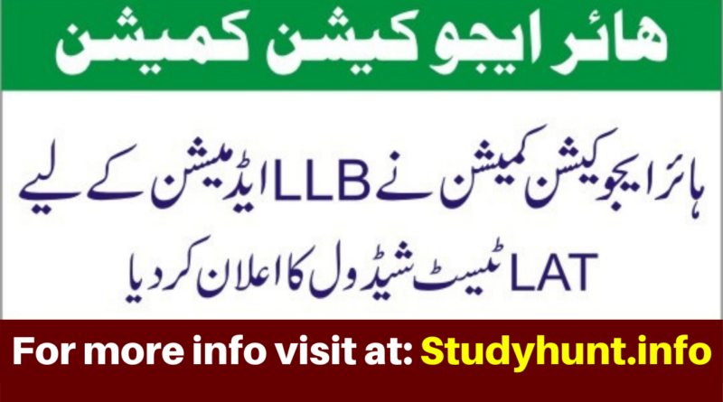 Law Admission Test (LAT) for Five-year LLB Program - HEC