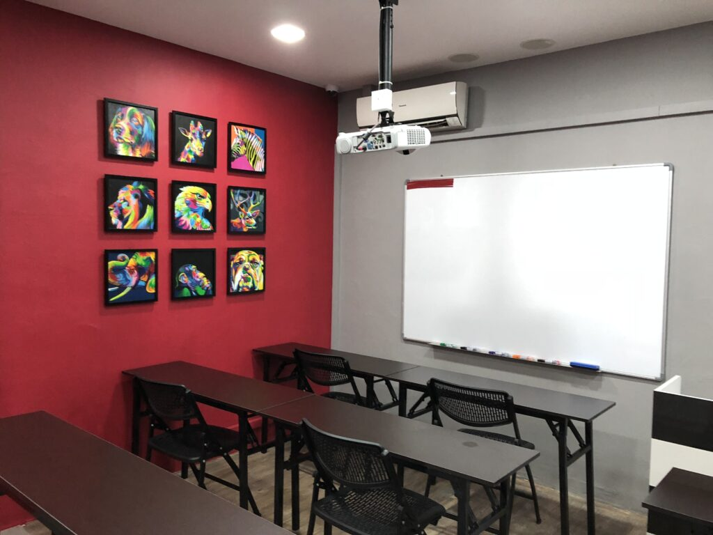 TRT tuition classroom