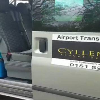 Inside one of our luxury mini buses | Airport Transfers Liverpool