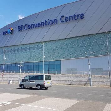 Transfers to BT Convention Centre for Leisure Travel Liverpool