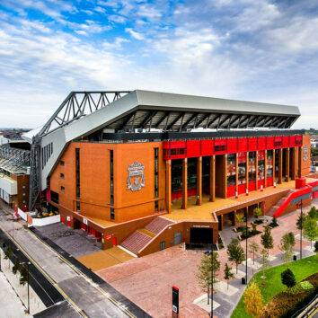 Travel services from Liverpool Airport to Anfield