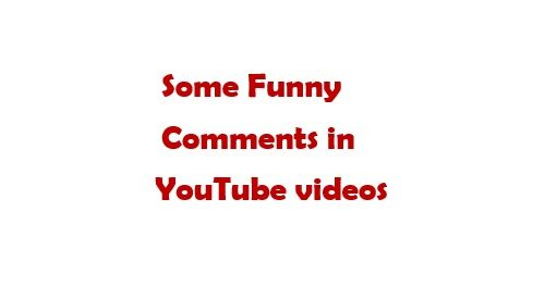 Types of comments in YouTube videos