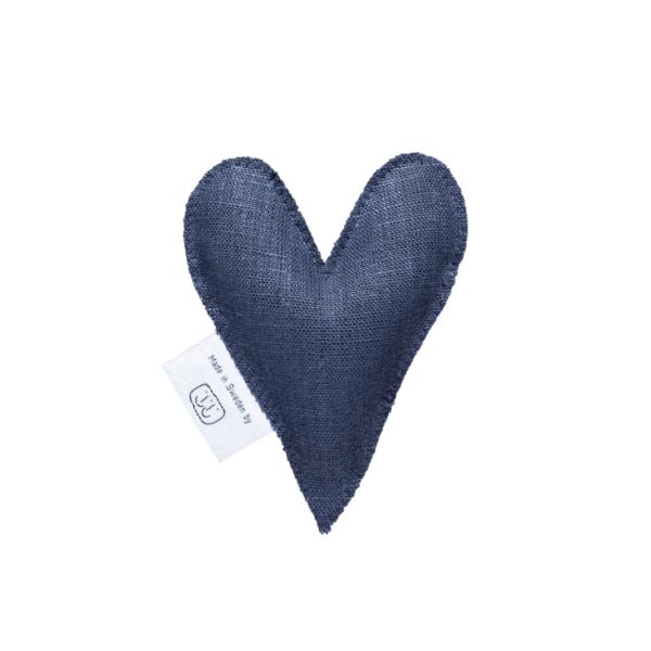 Marinblå lavendelhjärta