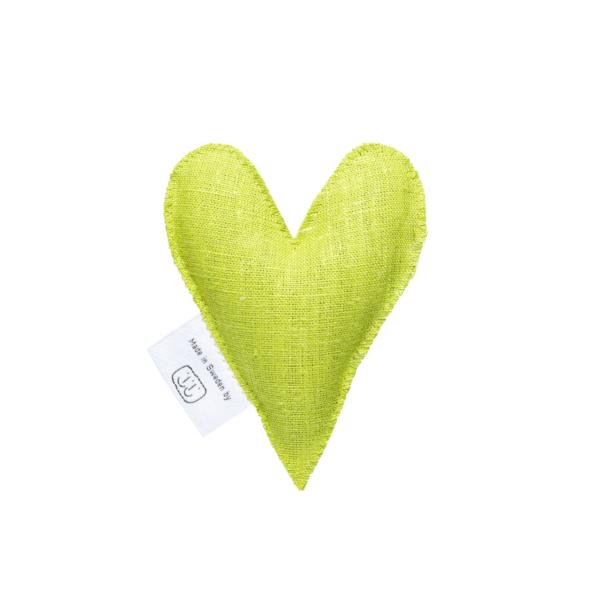 Limegrön lavendelhjärta