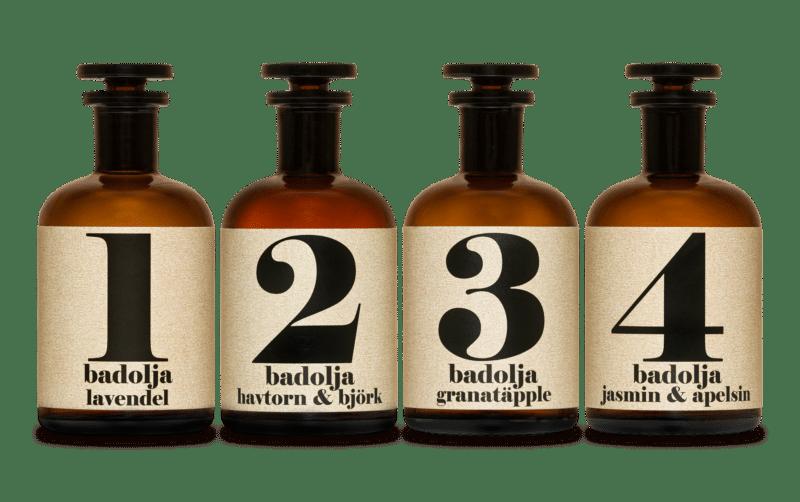 Bath oils Spa series