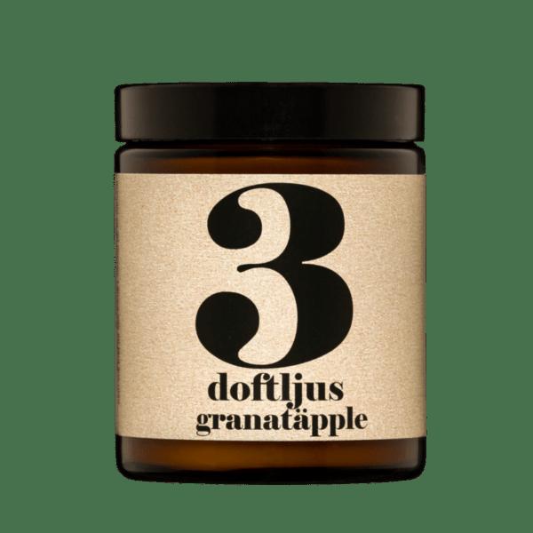 Doftljus nr 3 Granatäpple