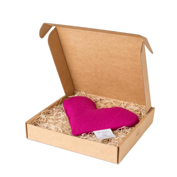 Fuchsia sweetheart vetevärmare i förpackning