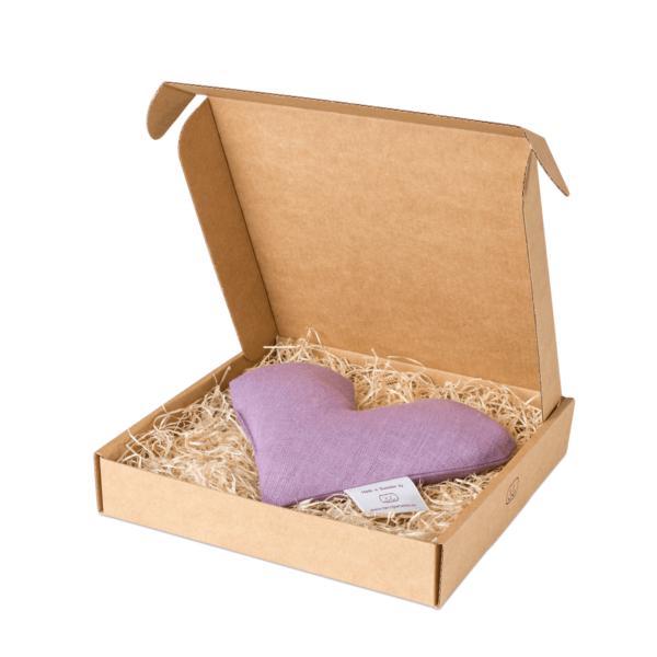 Ljung sweetheart vetevärmare i förpackning