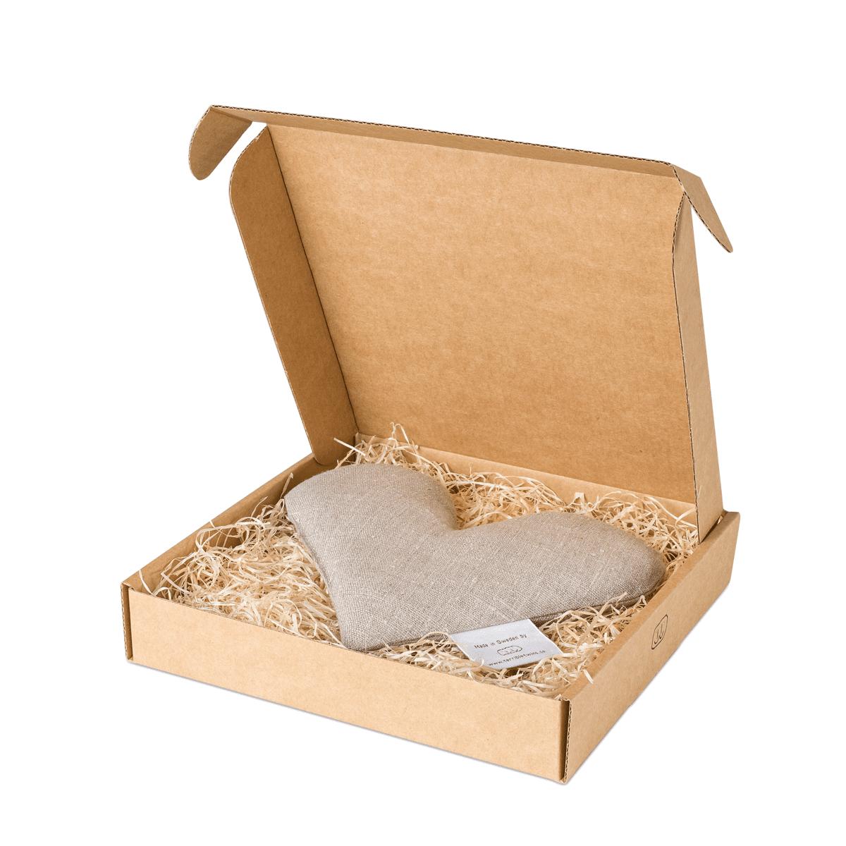 Natur sweetheart vetevärmare i förpackning