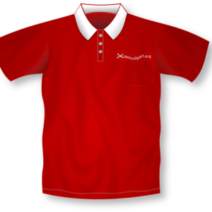 Golf Casual Shirt Red
