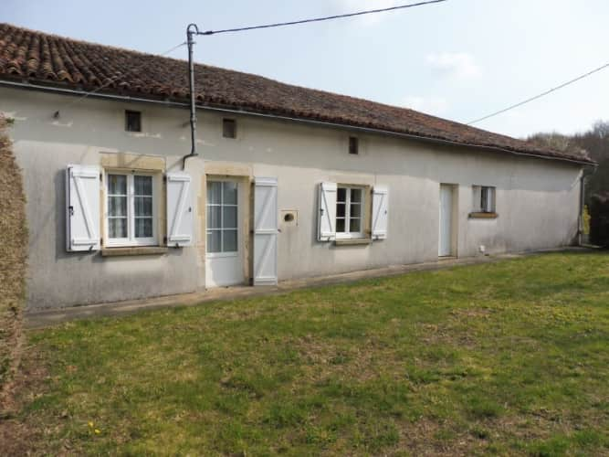 Traditional Country Cottage for Sale in Charroux, France
