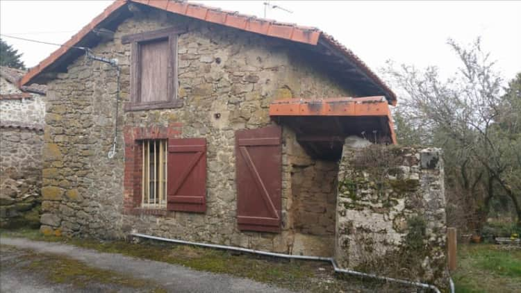 St Cyr Stone Cottage for Sale in France, Property for sale in France, House for sale in France