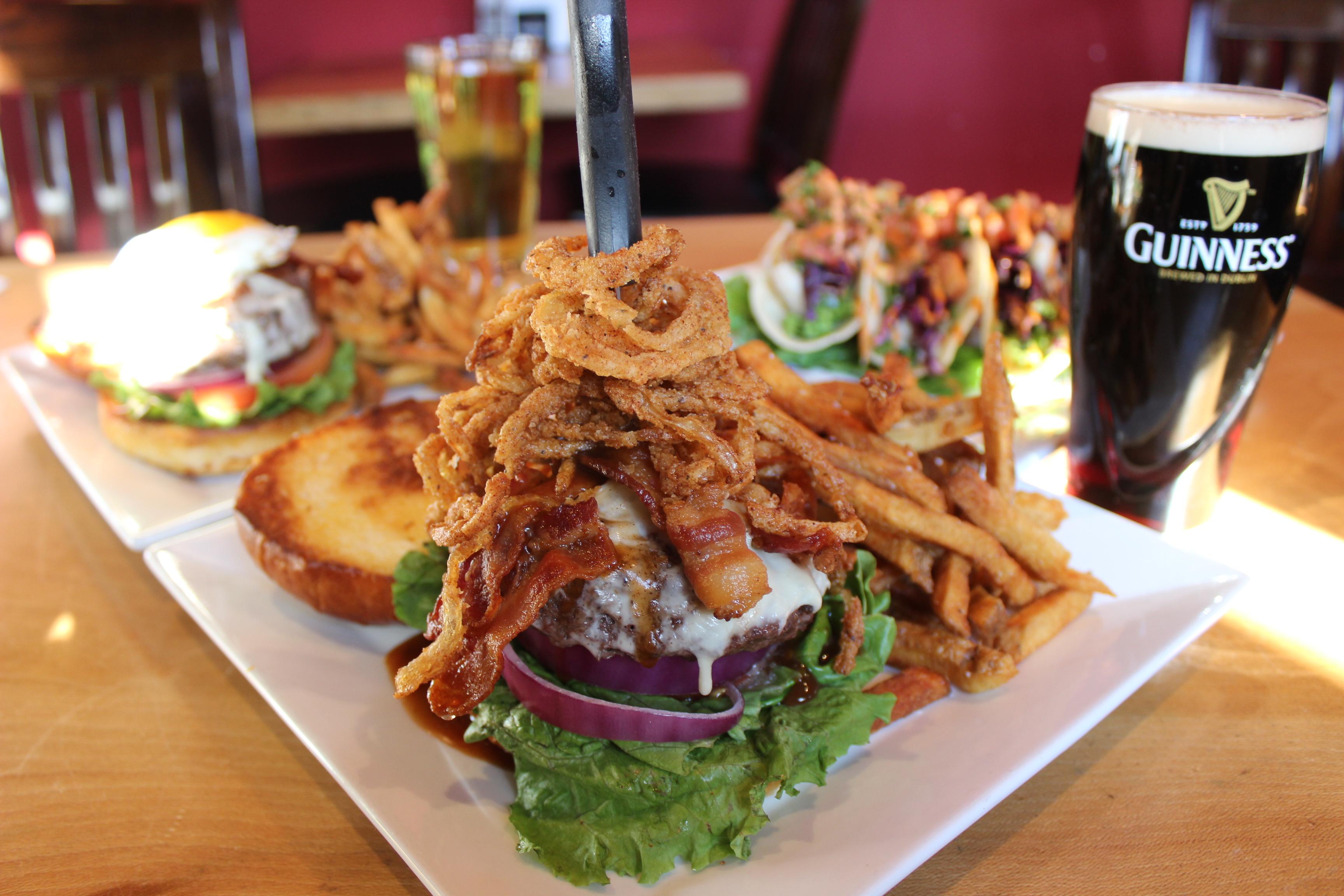 Bacon Burger Hilltown Tavern