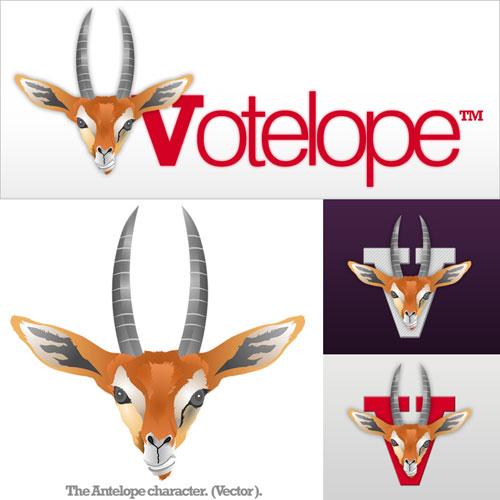 Votelope Old Logo