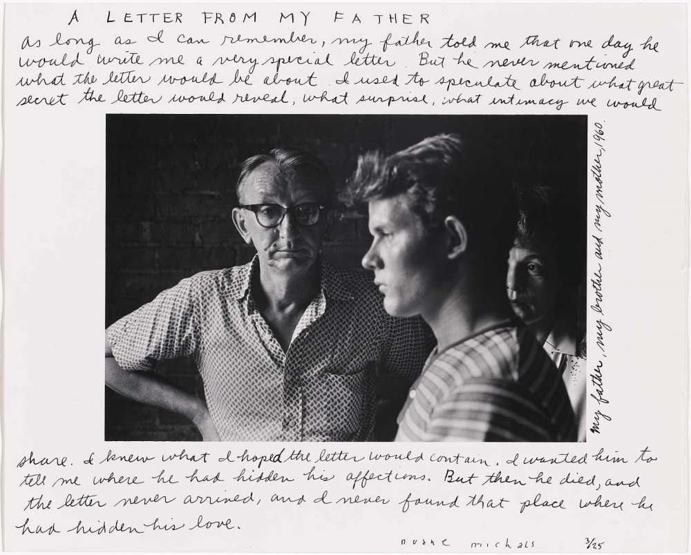 Duane Michals - A Letter From My Father