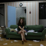 "stage and costume designer- sapir ashkenazi for the play ""cash on delivery"""