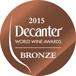 Decanter World Wine Awards 2017 Bronze