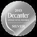 Decanter World Wine Awards 2015 Silver Medal