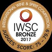 IWSC 2017 Bronze
