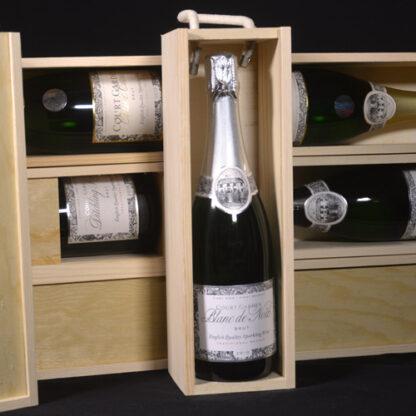 Sparkling Wine Wooden Gift Box