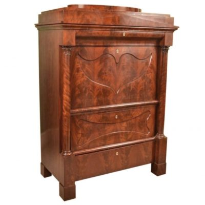 SOLD Antique Biedermeier German Secretaire Chest c.1830