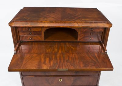 07197-antique-biedermeier-flame-mahogany-secretaire-chest-c-1820-12