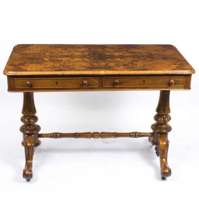 Antique Victorian Sofa Table or Writing Table