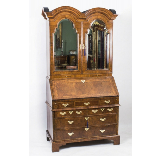 Queen Anne Antique Bureau Bookcase c. 1720