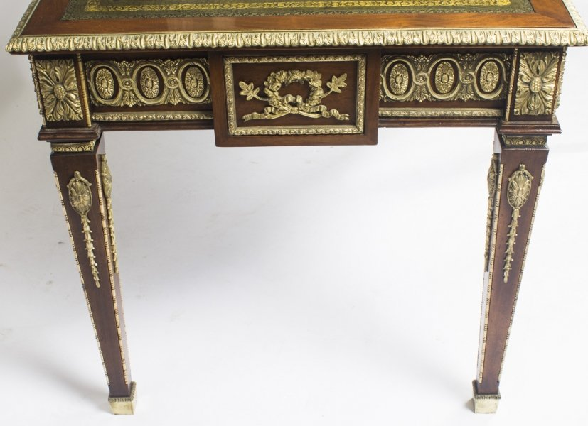 French Empire Revival Bureau Plat