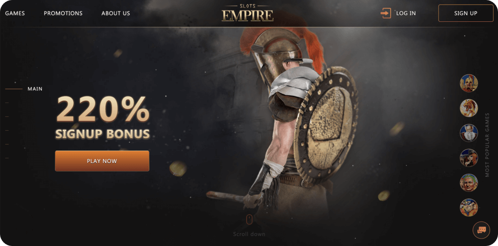 slots empire review