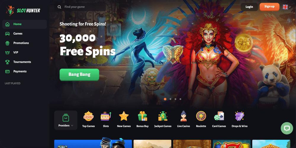 Slothunter casino review