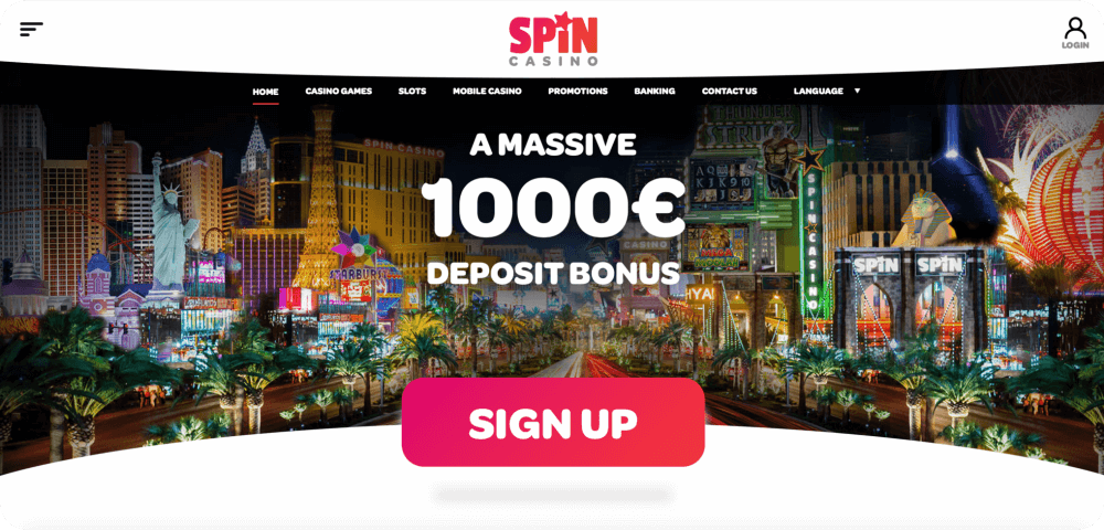 spin online casino review