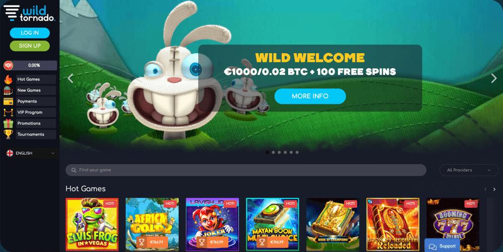 wild tornado casino review