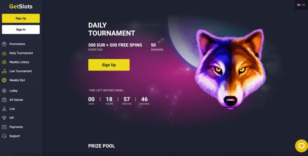 GetSlots Player Tournaments