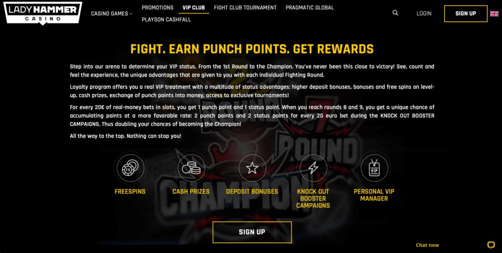 Ladyhammer VIP Bonus