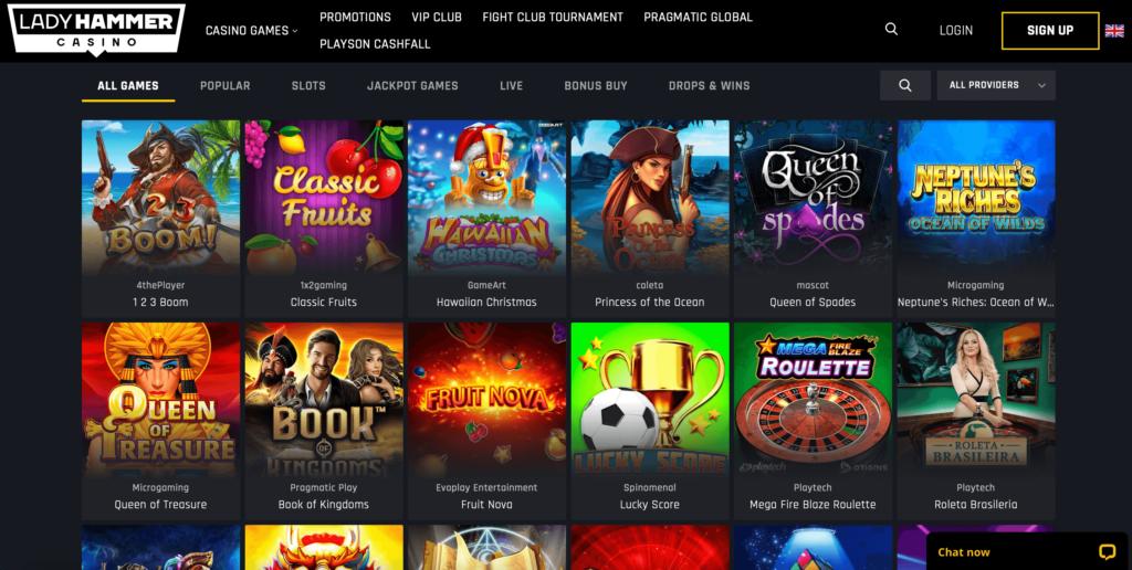 Ladyhammer Game Providers